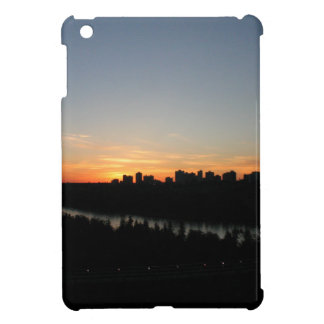 Edmonton Skyline after Sunset iPad Mini Cover