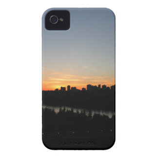 Edmonton Skyline after Sunset iPhone 4 Cover
