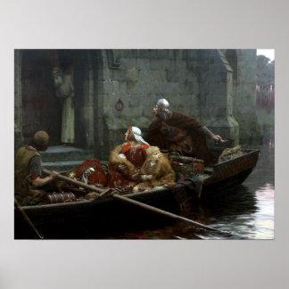 Edmund Blair Leighton In Time of Peril Poster