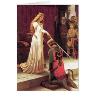 Edmund Blair Leighton: The Accolade Card