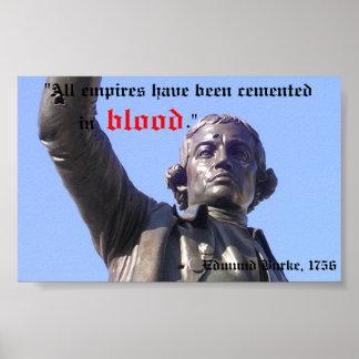 Edmund Burke, Anarchist Poster