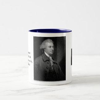 Edmund Burke  Two-Tone Coffee Mug