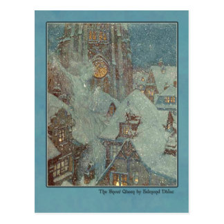 Edmund Dulac Illustration from The Snow Queen Post Cards