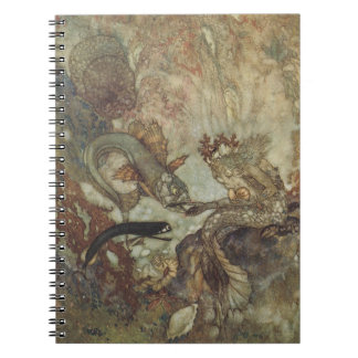 Edmund Dulac Merman Fine Art Notebook