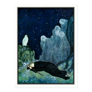 Edmund Dulac - The Dreamer of Dreams Postcard