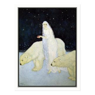 Edmund Dulac - The Snow Maiden Postcard