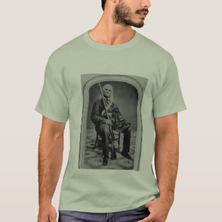 Edmund Ruffin Rebel Soldier T-Shirt