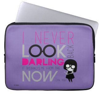 Edna Mode - I Never Look Back Laptop Sleeve