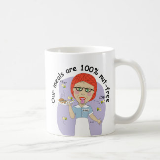 Edna The Lunch Lady Classic White Coffee Mug