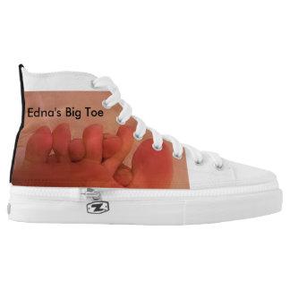 EDNA'S BIG TOE HIGH TOPS