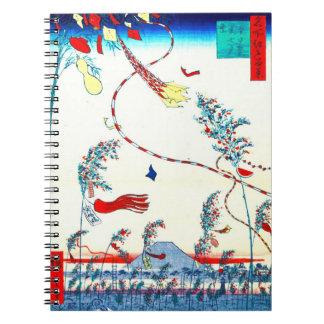 Edo Tanabata Festival 1857 Notebook