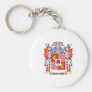 Edouard Coat of Arms - Family Crest Keychain