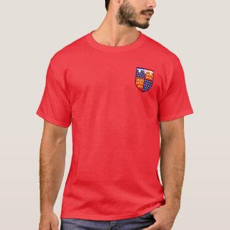 Edouard le prince noir manteau de la chemise de t-shirt