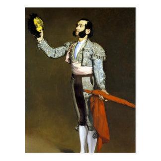 Édouard Manet A Matador Postcard