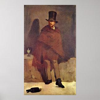 edouard Manet - Absinthe Drinker Poster