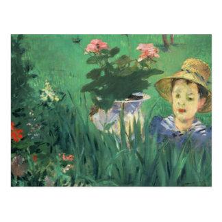 Édouard Manet - Boy in Flowers Postcard