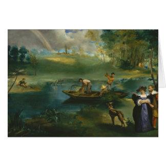 Edouard Manet - Fishing Card