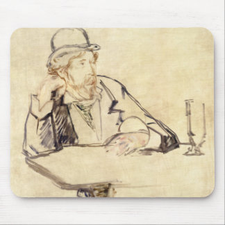 Edouard Manet - George Moore at the Cafe Mouse Pad