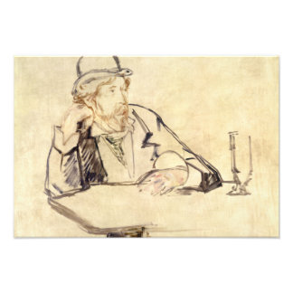 Edouard Manet - George Moore at the Cafe Photo Print