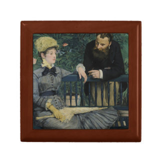 Edouard Manet - In the Conservatory Keepsake Boxes