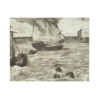 Edouard Manet - Marine Canvas Print