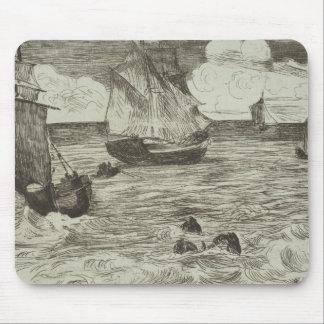 Edouard Manet - Marine Mouse Pad