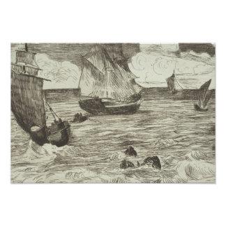 Edouard Manet - Marine Photo Print