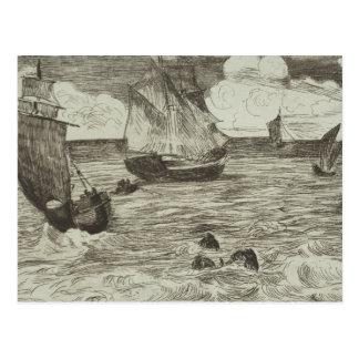 Edouard Manet - Marine Postcard
