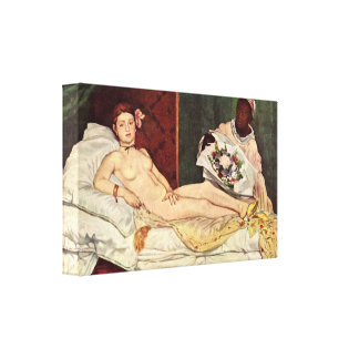 edouard Manet - Olympia Canvas Print