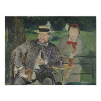 Edouard Manet - Portrait of Ernest Hoschedé Photographic Print