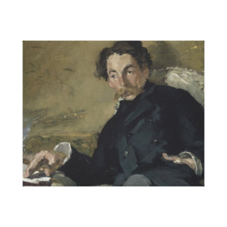 Edouard Manet - Stephane Mallarme Canvas Print