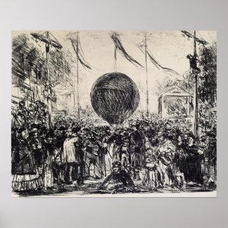 Edouard Manet - The Balloon Poster