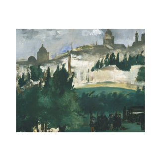 Edouard Manet - The Funeral Canvas Print