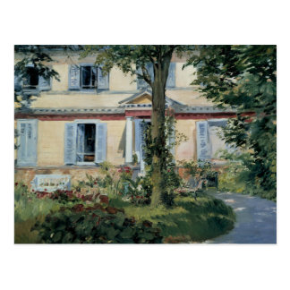 Edouard Manet - The House at Rueil Postcard