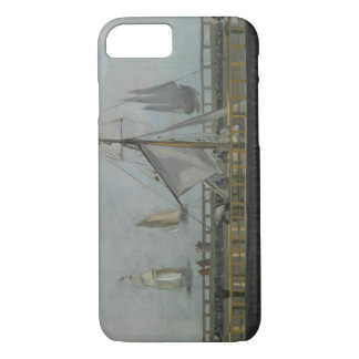 Edouard Manet - The Jetty of Boulogne-sur-Mer iPhone 7 Case