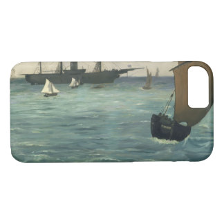 Edouard Manet - The Kearsarge at Boulogne iPhone 7 Case