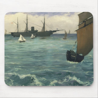 Edouard Manet - The Kearsarge at Boulogne Mouse Pad
