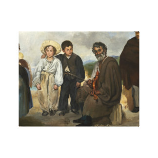 Edouard Manet - The Old Musician Canvas Print