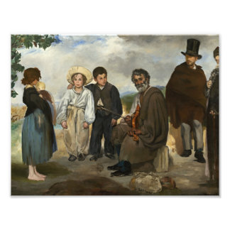 Edouard Manet - The Old Musician Photographic Print