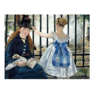 Edouard Manet - The Railway Postcard