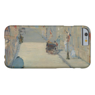 Edouard Manet - The Rue Mosnier with Flags Barely There iPhone 6 Case