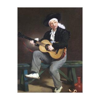 Édouard Manet The Spanish Singer Canvas Print