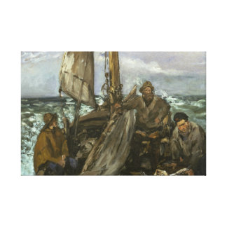 Edouard Manet - The Toilers of the Sea Canvas Print