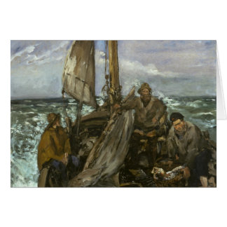 Edouard Manet - The Toilers of the Sea Card