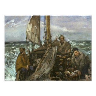 Edouard Manet - The Toilers of the Sea Photo