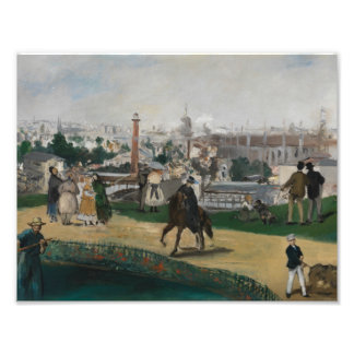 Edouard Manet - View of the Universal Exhibition Photograph