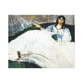 Edouard Manet - Woman with a Fan Canvas Print