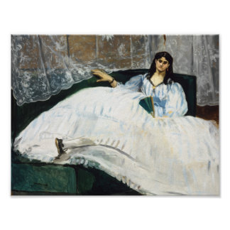 Edouard Manet - Woman with a Fan Poster