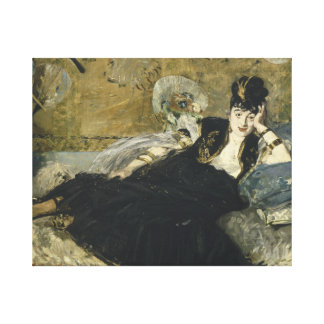 Edouard Manet - Woman with Fans Canvas Print