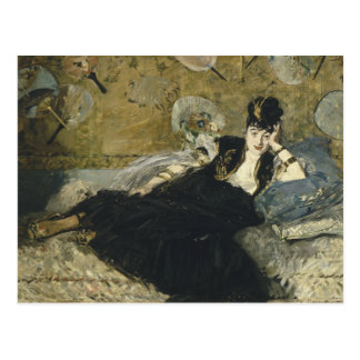 Edouard Manet - Woman with Fans Postcard